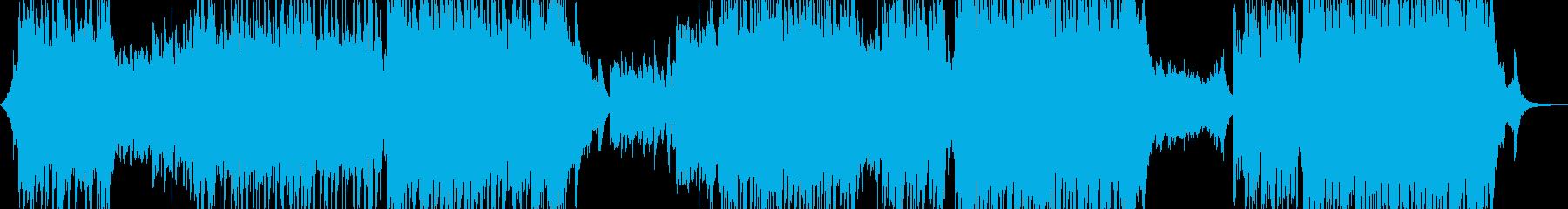 幻想的な冬R&B・後半ハイテンポ 短尺の再生済みの波形