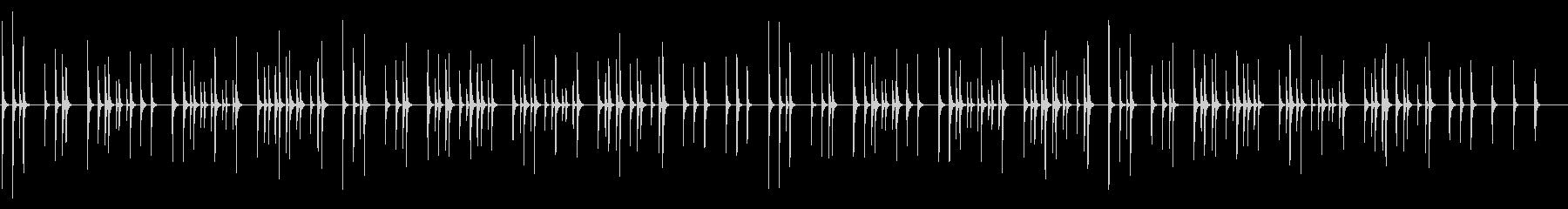 春よ来い 卓上木琴の未再生の波形