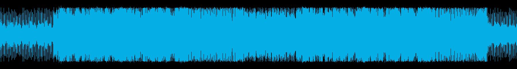明るく疾走感のあるチップチューンサウンドの再生済みの波形