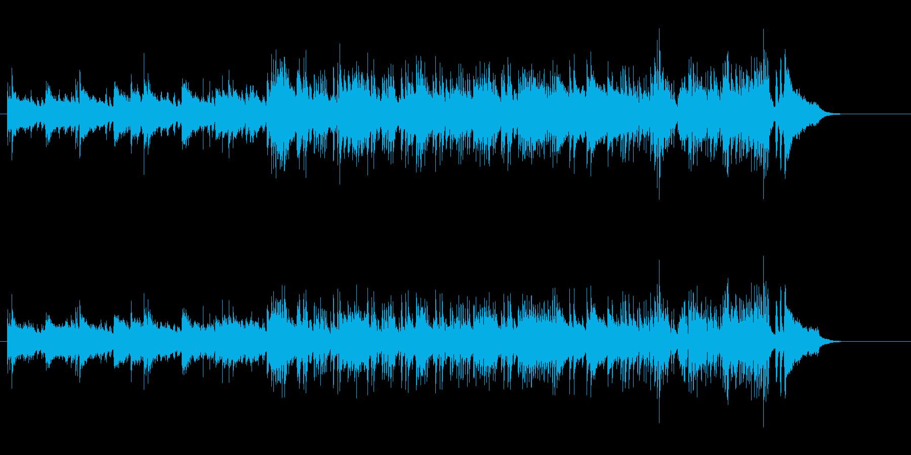 小粋で透明感のあるアダルト・ポップスの再生済みの波形