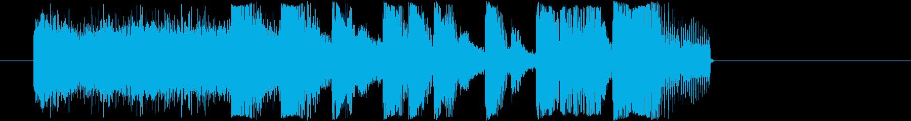 エレクト_ハイクオリティージングル_16の再生済みの波形