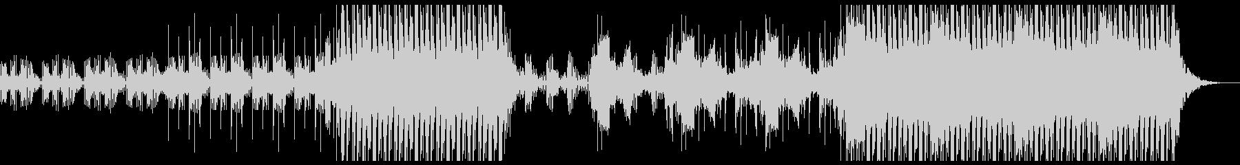 レトロなエレクトロな音が印象的なBGMの未再生の波形