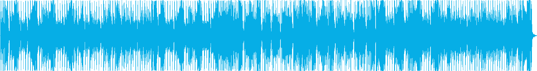 パワフルでスタイリッシュなディスコの再生済みの波形