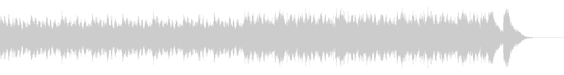 緊迫感 オーケストラ2の未再生の波形