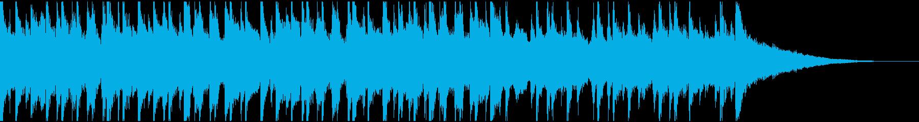 30秒ウクレレ、リコーダーの楽しい楽曲の再生済みの波形