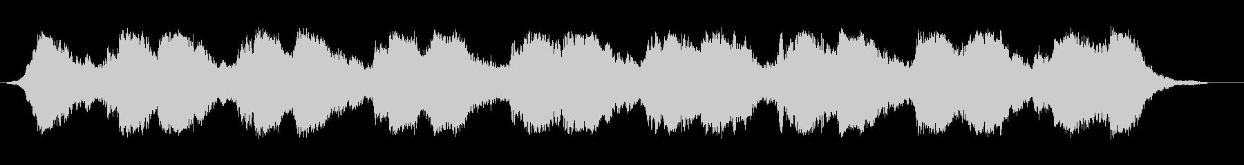 ホラー&サスペンスな雰囲気のBGMの未再生の波形