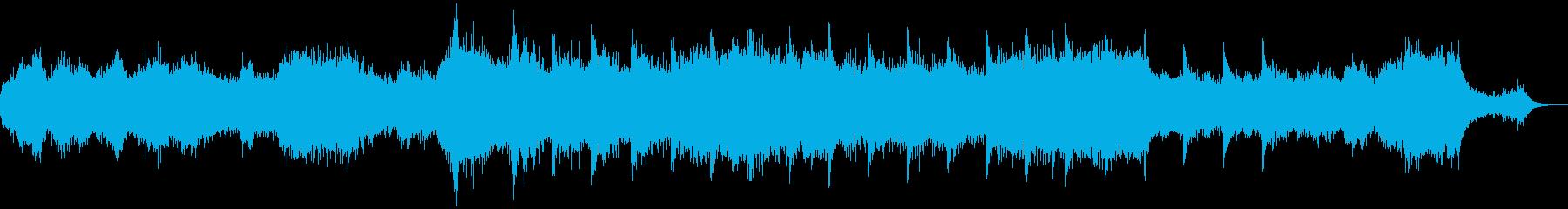 BGMとしてお使いくださいの再生済みの波形