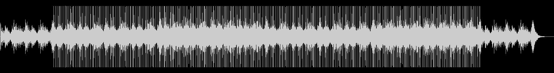 幸せなウェディングなどに合うピアノ曲の未再生の波形