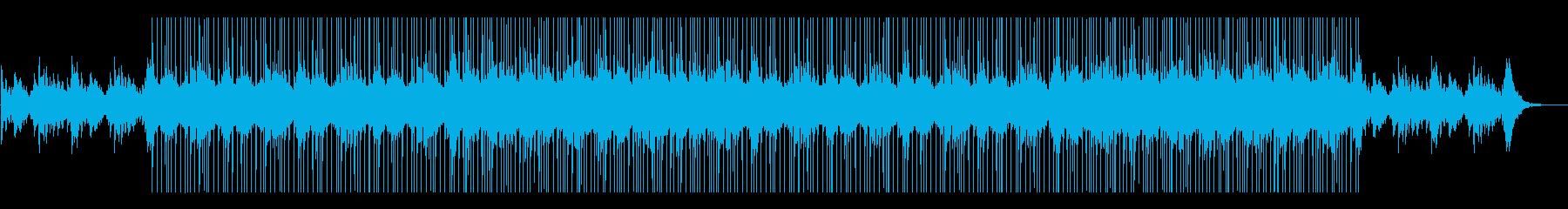 幸せなウェディングなどに合うピアノ曲の再生済みの波形
