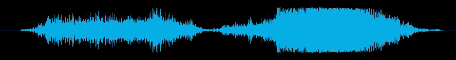ボウッボボボボゥ(炎が舞い上がる音)の再生済みの波形