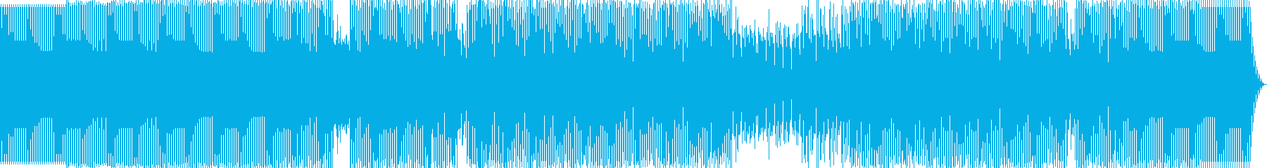 minimal house の再生済みの波形