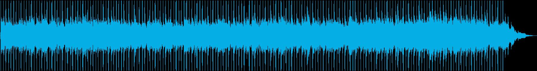 気持ちが揺らぐエモーショナルなチルBGMの再生済みの波形
