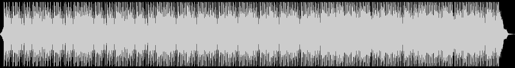 無機質でクールなヒップホップの未再生の波形