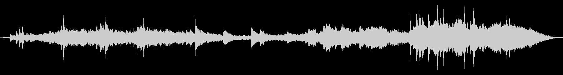 感情的なオーケストレーションのサウ...の未再生の波形