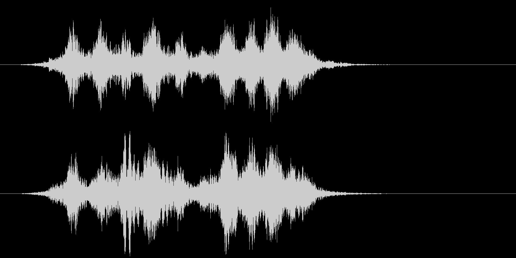 【ホラー】SFX_33 キーンキーンッッの未再生の波形
