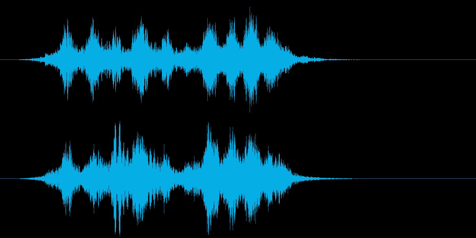 【ホラー】SFX_33 キーンキーンッッの再生済みの波形