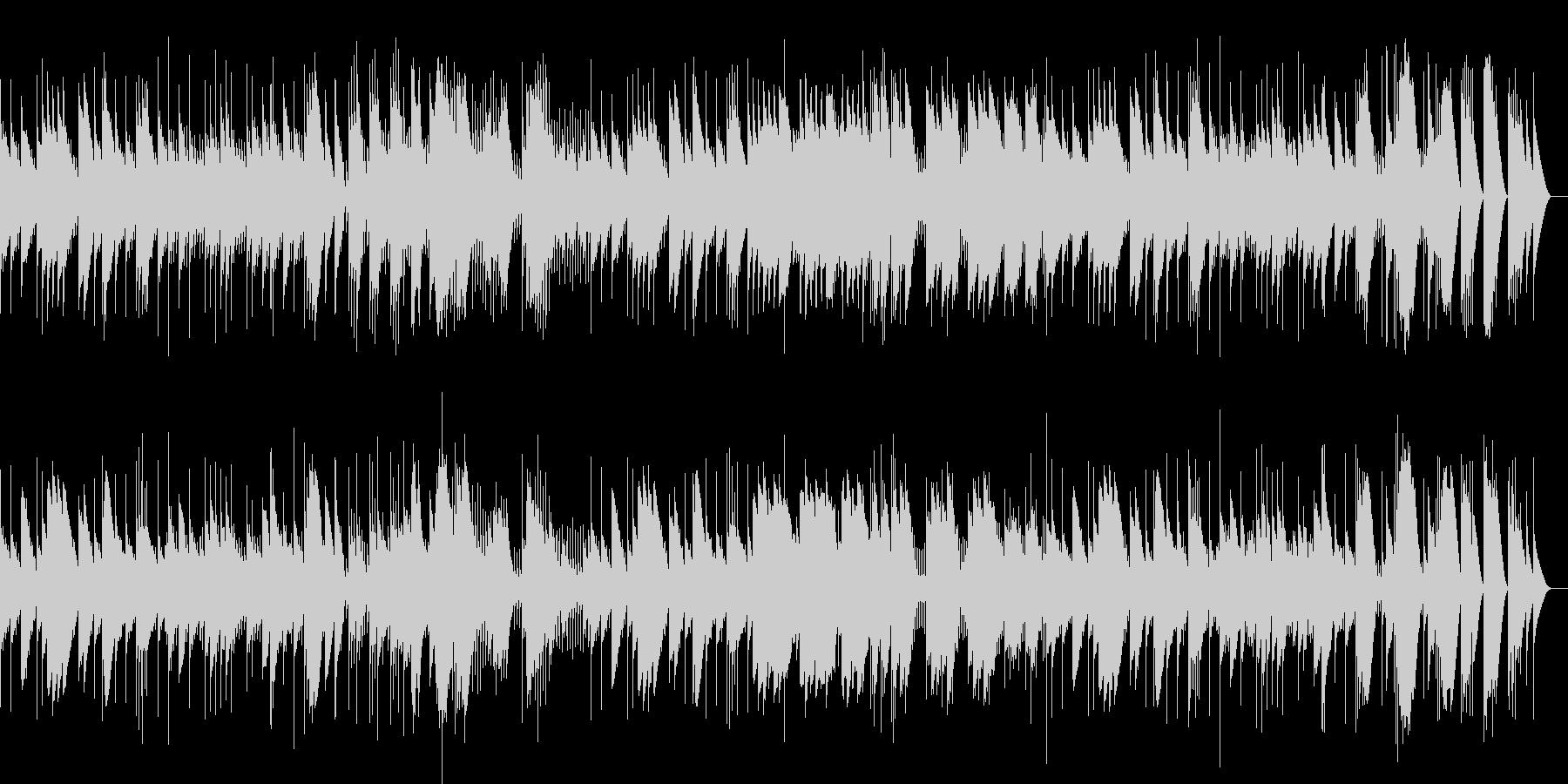 悲愴 第2楽章 フル尺(オルゴール)の未再生の波形