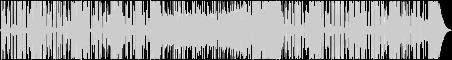 シンプルで明るいフューチャーベースEDMの未再生の波形