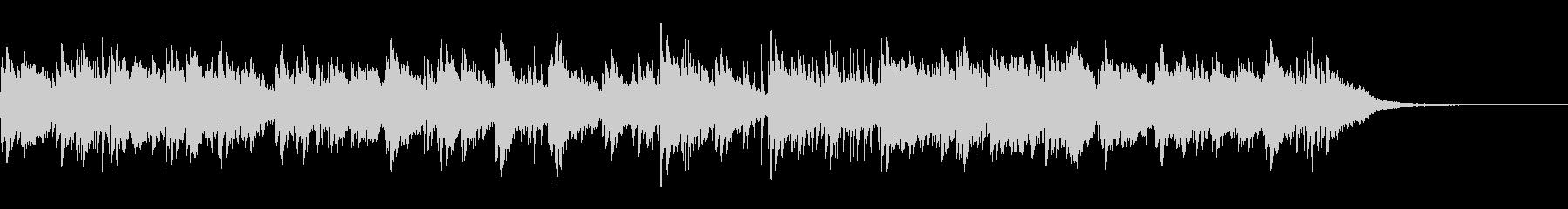 切ないピアノアンビエントの未再生の波形