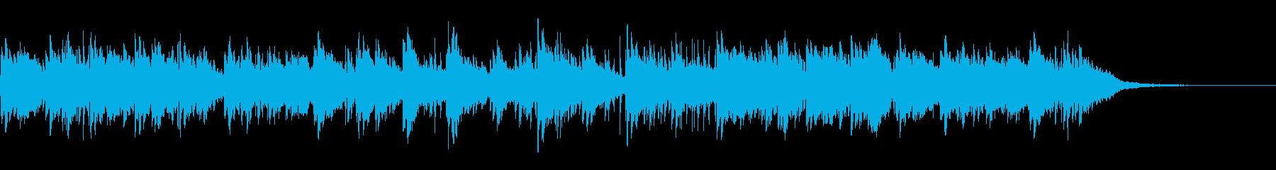 切ないピアノアンビエントの再生済みの波形