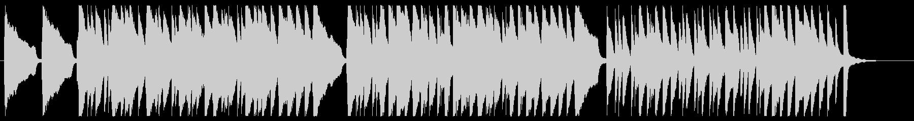 十人のインディアン ピアノver.の未再生の波形
