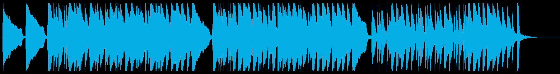 十人のインディアン ピアノver.の再生済みの波形