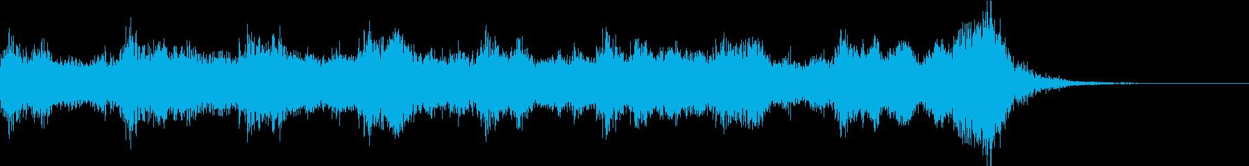 緊迫感 オーケストラ3の再生済みの波形