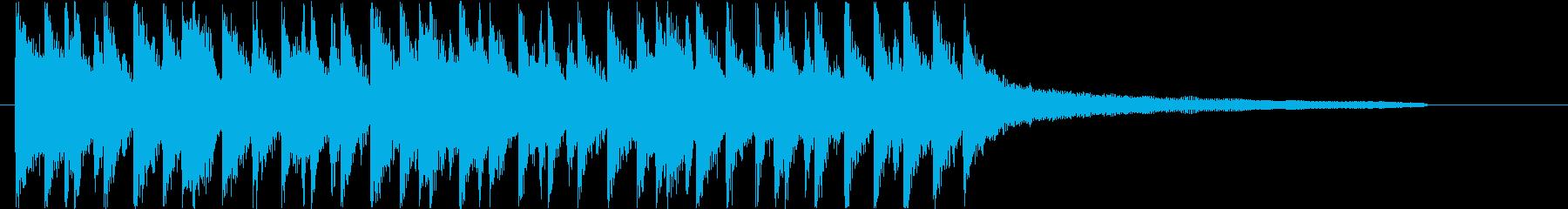 ポップでハッピーなカントリーロゴ♪の再生済みの波形