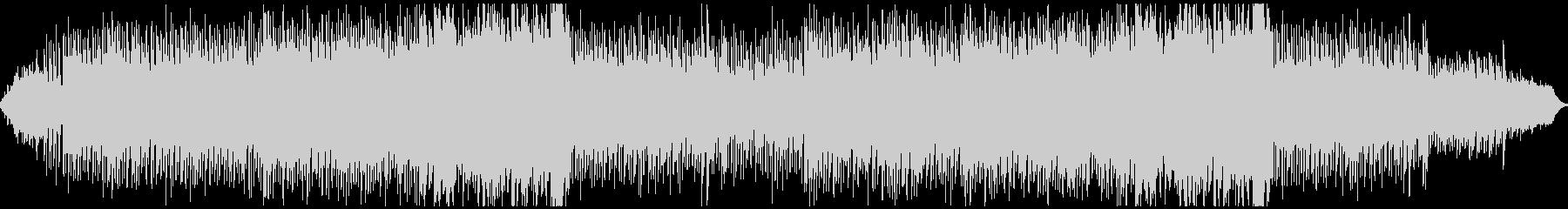 波の音が常に流れているアンビエントの未再生の波形