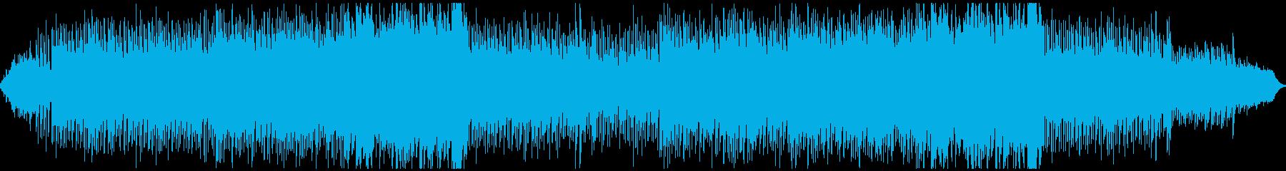 波の音が常に流れているアンビエントの再生済みの波形