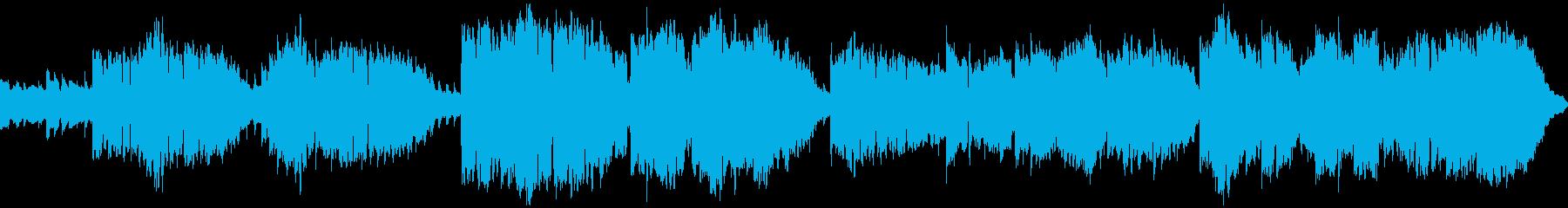 素朴で懐かしいオカリナ曲の再生済みの波形