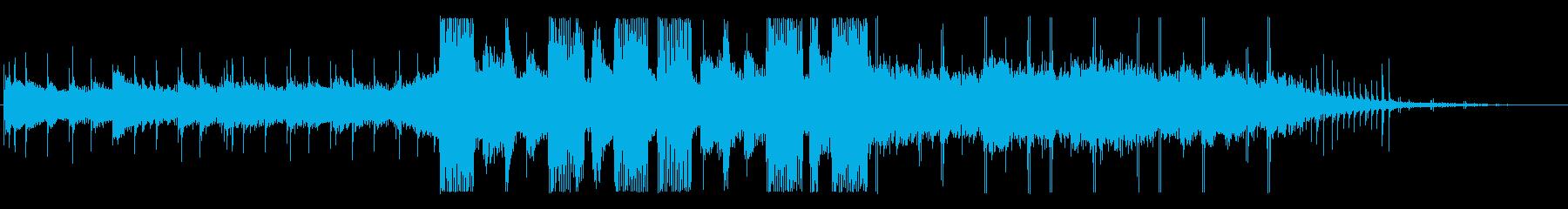トロピカル 劇的な 怠け者 魅惑 ピアノの再生済みの波形