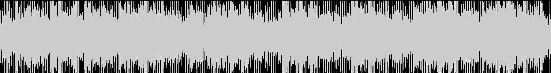 アコギ・日常パート・ほのぼのとした曲の未再生の波形