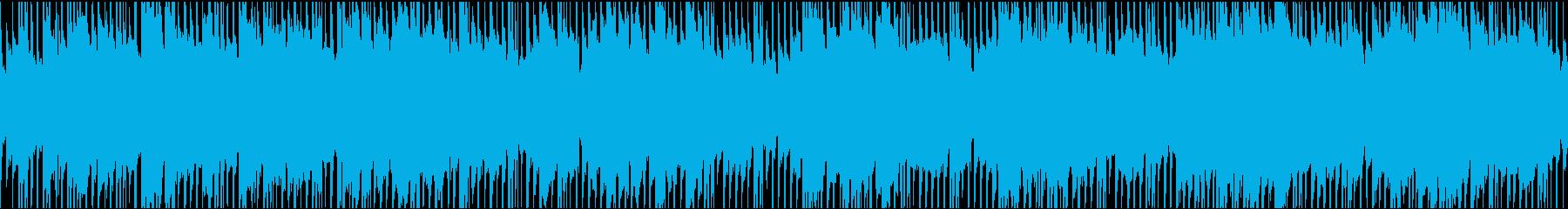 アコギ・日常パート・ほのぼのとした曲の再生済みの波形