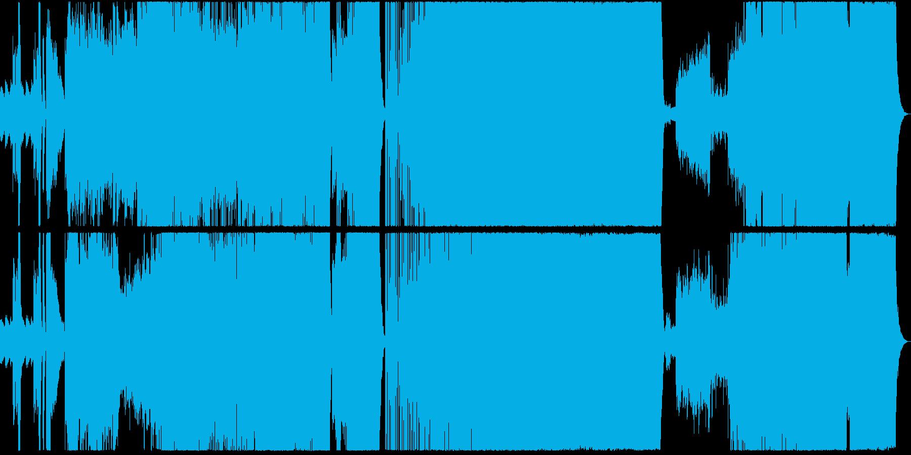 幻想的で荘重なシンフォニック・ロックの再生済みの波形