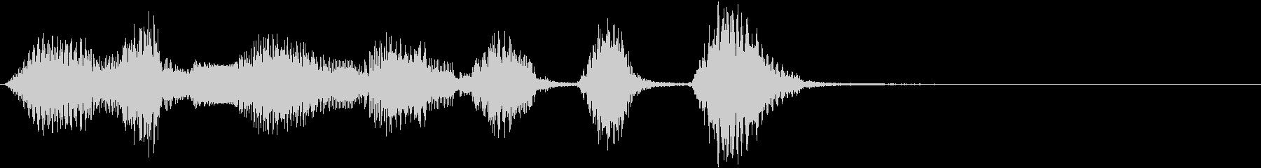 アコーデオン:短い音楽アクセント、...の未再生の波形