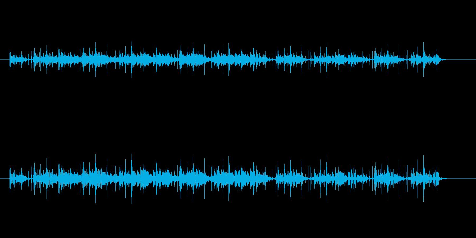 中近東音楽風の再生済みの波形