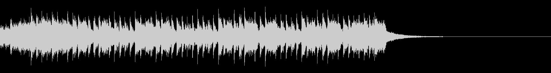 ハウスミュージック2(30秒 SNS)の未再生の波形