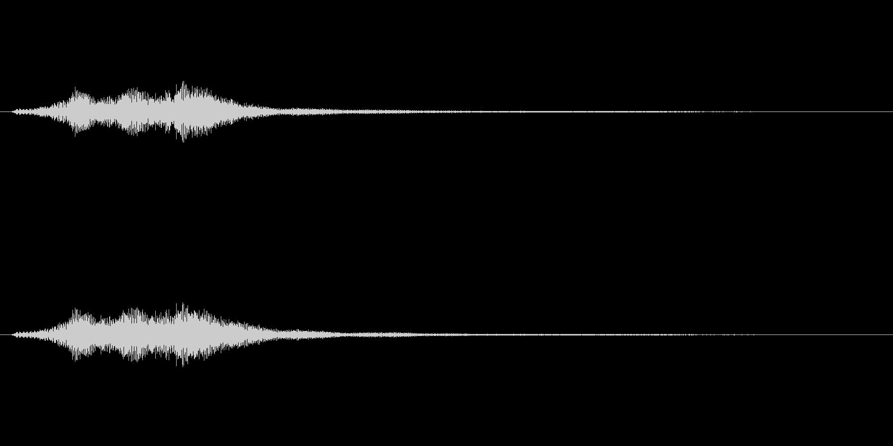 ハープグリッサンド上行3回~Cの未再生の波形