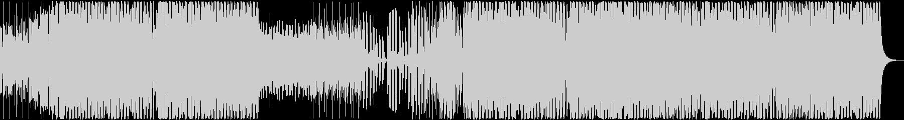 [EDM]ポップなクラブ系ハウス音楽の未再生の波形
