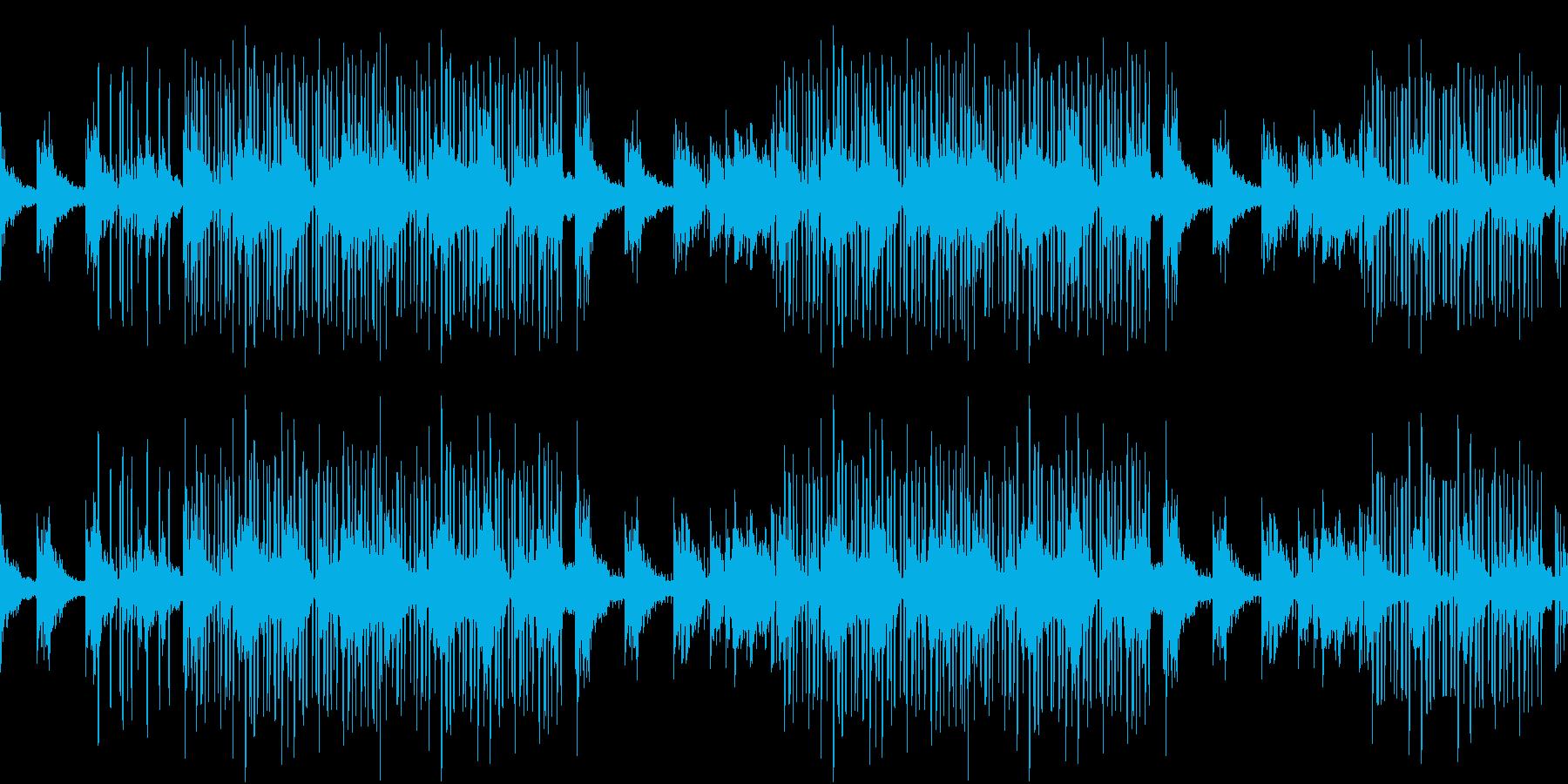 レトロ・お洒落・ピアノ・センチメンタルの再生済みの波形