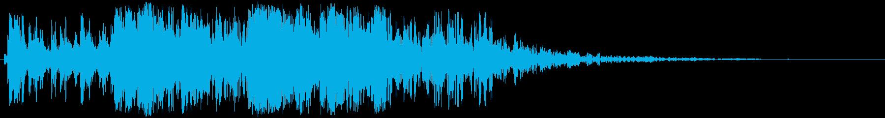 ヘビータンブリングメタルクラッシュ...の再生済みの波形