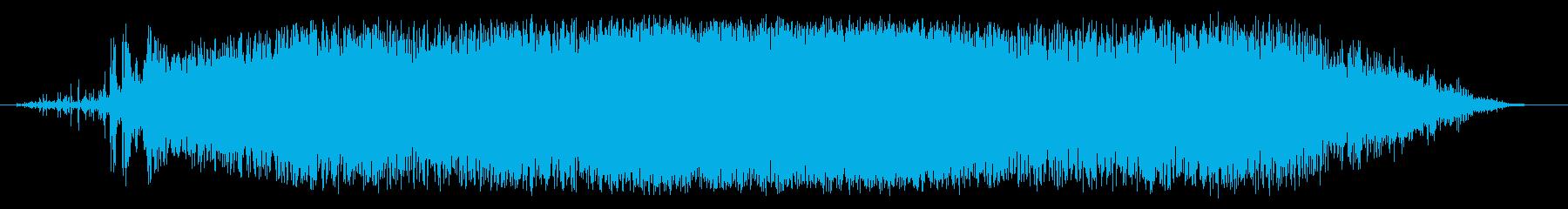 雪崩:ヘビーの再生済みの波形