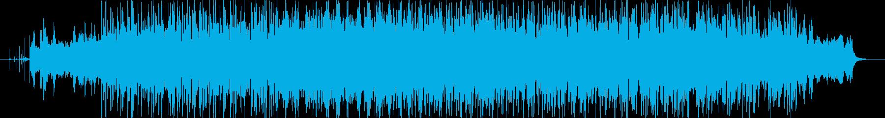ハードでダークなスローロックオリジナルの再生済みの波形
