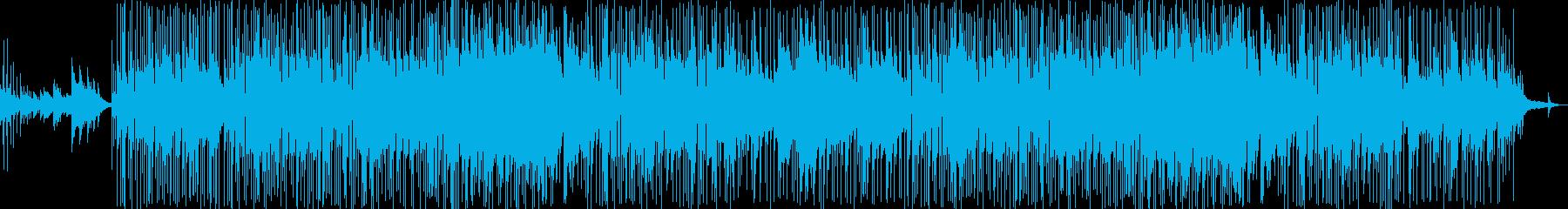 メロウでおしゃれでアンニュイなボサノバの再生済みの波形