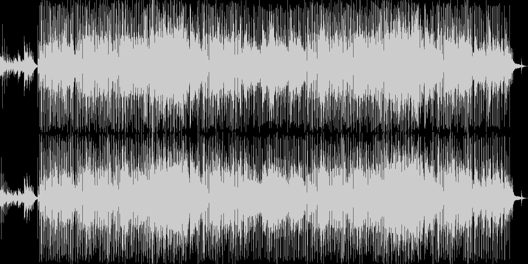 メロウでおしゃれでアンニュイなボサノバの未再生の波形