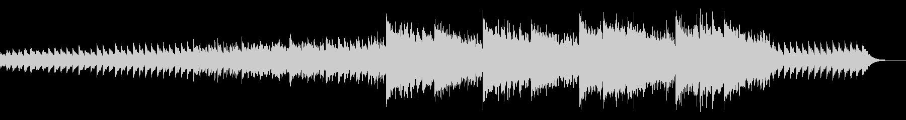 ちょっぴりシリアスなピアノインストの未再生の波形