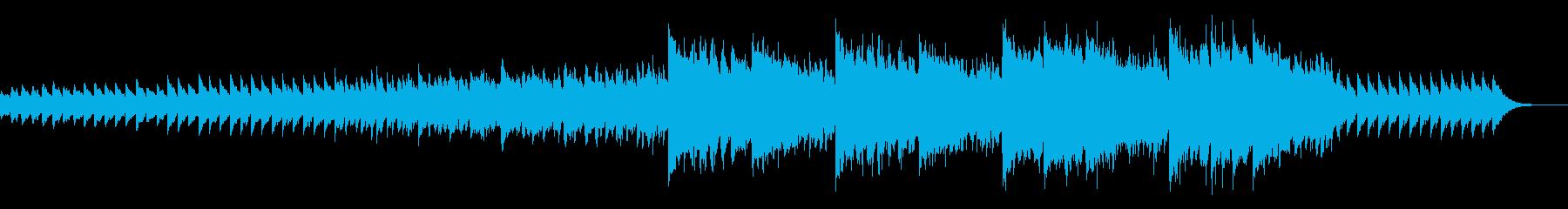 ちょっぴりシリアスなピアノインストの再生済みの波形
