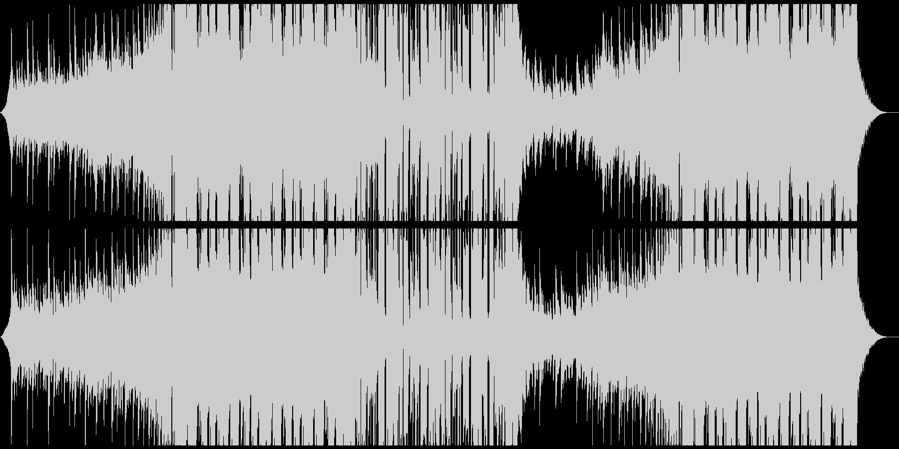 ちょっと切ない和風EDMの未再生の波形