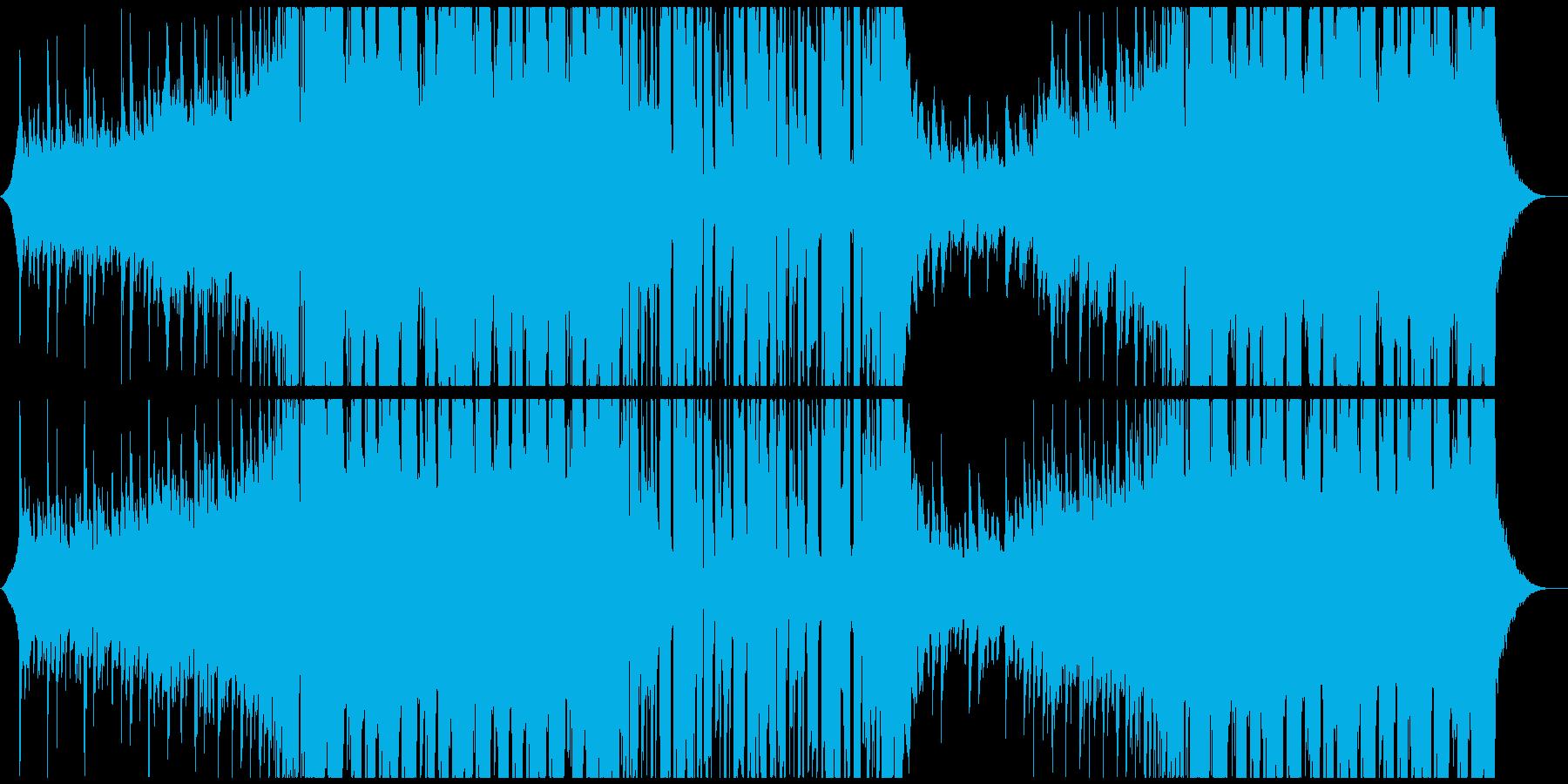 ちょっと切ない和風EDMの再生済みの波形